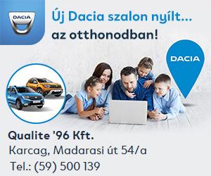 Készletkisöprés Dacia!