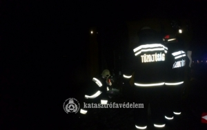 Kigyulladt egy akkumulátorgyár Jászberényben
