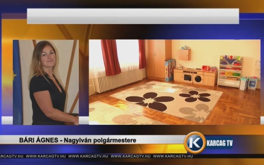 Interjú Bári Ágnessel Nagyiván polgármesterével