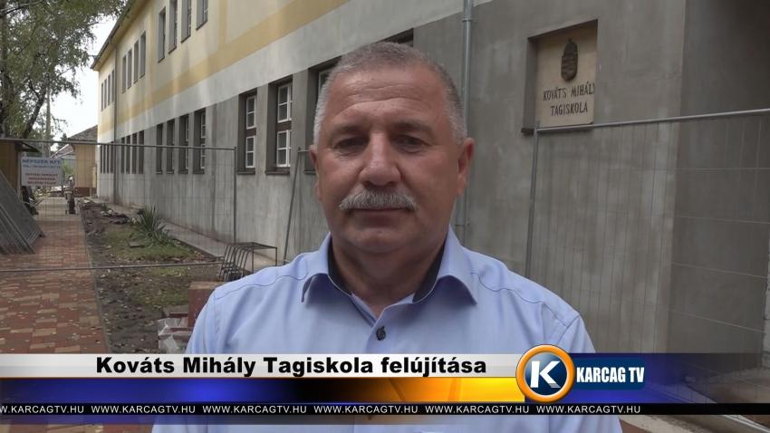 Kováts Mihály Tagiskola felújítása