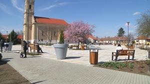 Átadták Tiszafüred új városközpontját