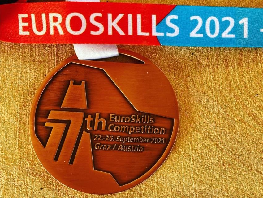 Bronzérem az EuroSkills-en