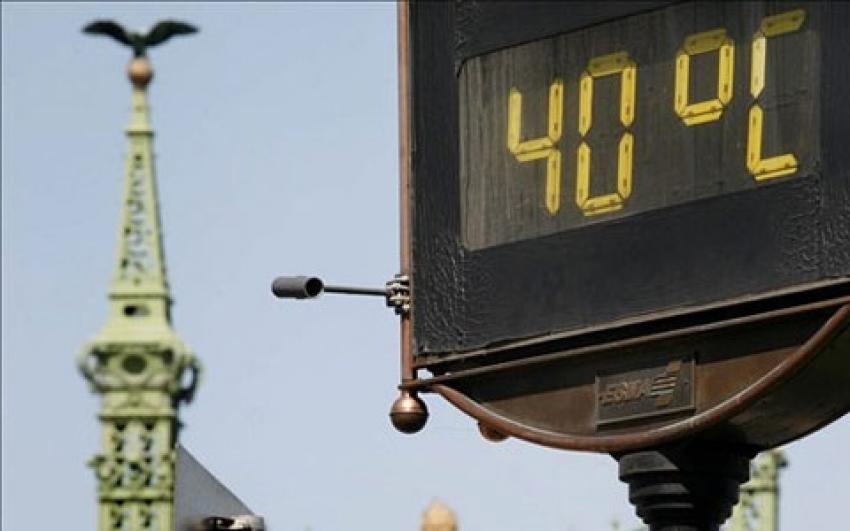 hőségben betartandó munkavédelmi előírásokra hívják fel a figyelmet